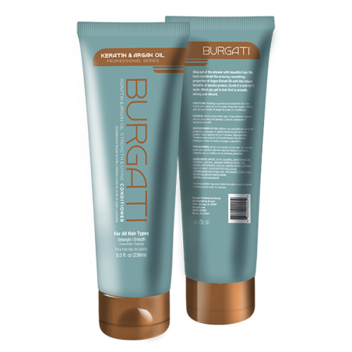 Burgati Argan Oil & Keratin Conditioner
